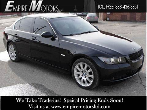 2008 BMW 3 Series for sale at Empire Motors LTD in Cleveland OH