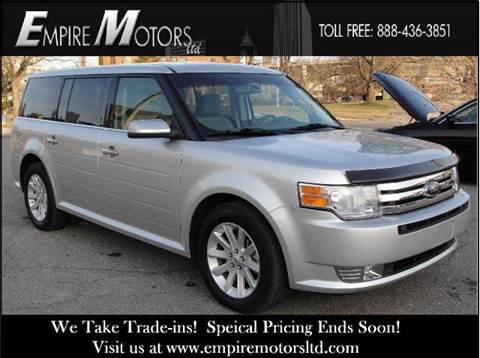 2010 Ford Flex for sale at Empire Motors LTD in Cleveland OH