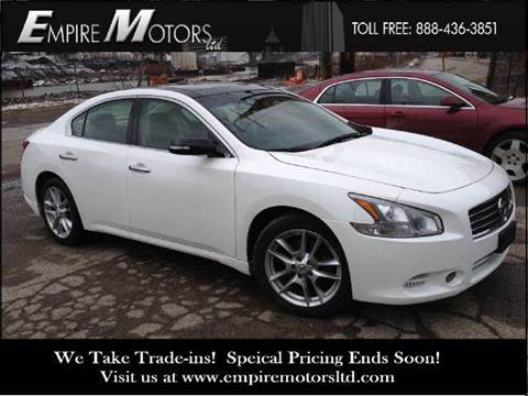 2010 Nissan Maxima for sale at Empire Motors LTD in Cleveland OH