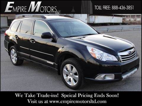 2011 Subaru Outback for sale at Empire Motors LTD in Cleveland OH