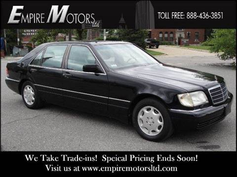 1995 Mercedes-Benz S-Class for sale at Empire Motors LTD in Cleveland OH