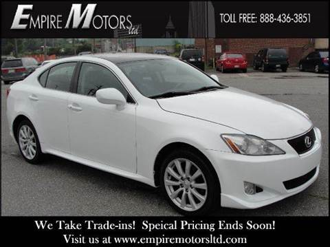 2008 Lexus IS 250 for sale at Empire Motors LTD in Cleveland OH