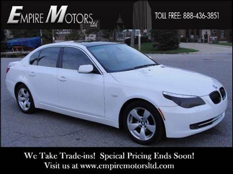 2008 BMW 5 Series for sale at Empire Motors LTD in Cleveland OH