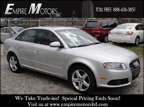 2008 Audi A4 for sale at Empire Motors LTD in Cleveland OH
