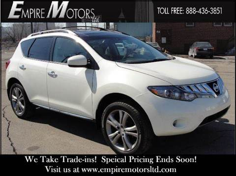 2010 Nissan Murano for sale at Empire Motors LTD in Cleveland OH