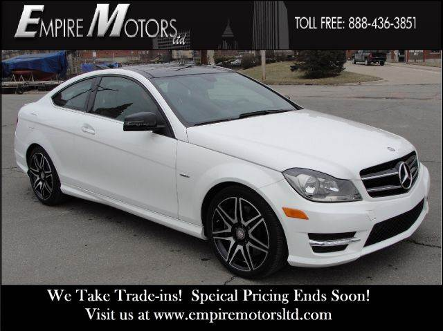 2013 Mercedes-Benz C-Class for sale at Empire Motors LTD in Cleveland OH