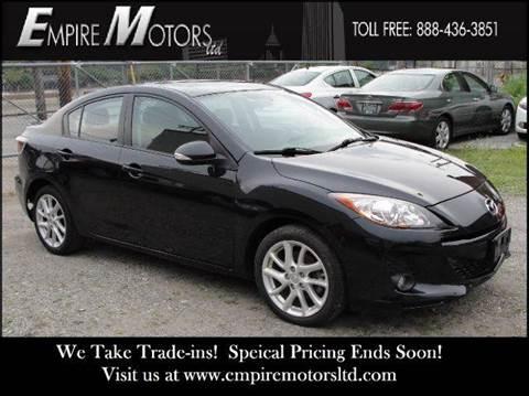 2012 Mazda MAZDA3 for sale at Empire Motors LTD in Cleveland OH