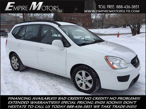 2008 Kia Rondo for sale at Empire Motors LTD in Cleveland OH