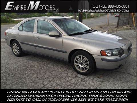 2003 Volvo S60 for sale at Empire Motors LTD in Cleveland OH