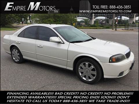 2004 Lincoln LS for sale at Empire Motors LTD in Cleveland OH
