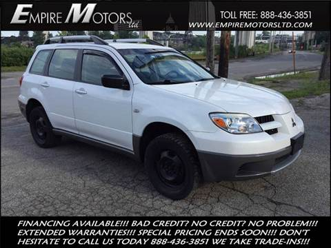 2006 Mitsubishi Outlander for sale at Empire Motors LTD in Cleveland OH