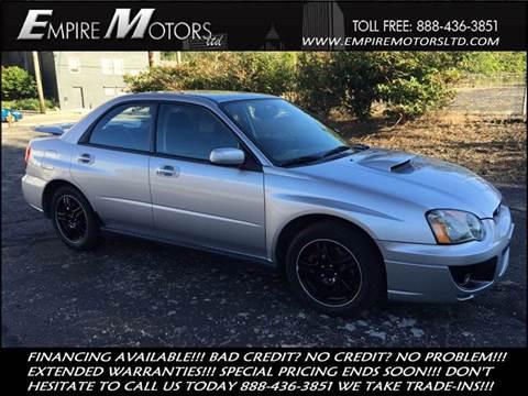 2004 Subaru Impreza for sale at Empire Motors LTD in Cleveland OH