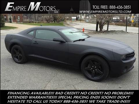 2010 Chevrolet Camaro for sale at Empire Motors LTD in Cleveland OH