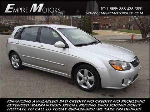 2008 Kia Spectra for sale at Empire Motors LTD in Cleveland OH