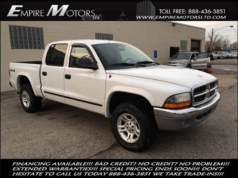 2004 Dodge Dakota for sale at Empire Motors LTD in Cleveland OH