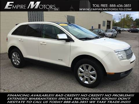 2007 Lincoln MKX for sale at Empire Motors LTD in Cleveland OH