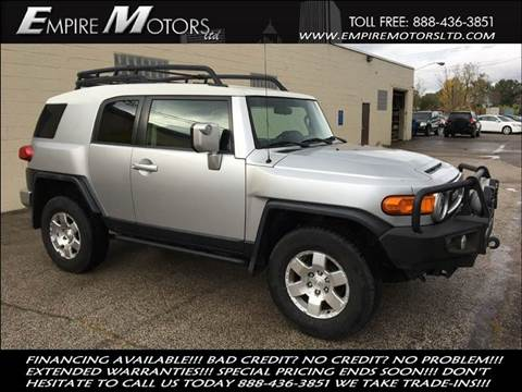 2007 Toyota FJ Cruiser for sale at Empire Motors LTD in Cleveland OH