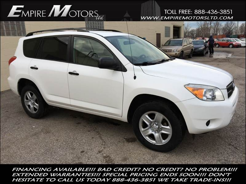 2008 Toyota Rav4 4x4 4dr Suv In Cleveland Oh Empire Motors Ltd