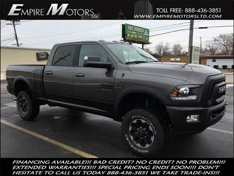 2017 RAM Ram Pickup 2500 for sale at Empire Motors LTD in Cleveland OH