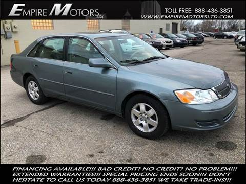2002 Toyota Avalon for sale at Empire Motors LTD in Cleveland OH