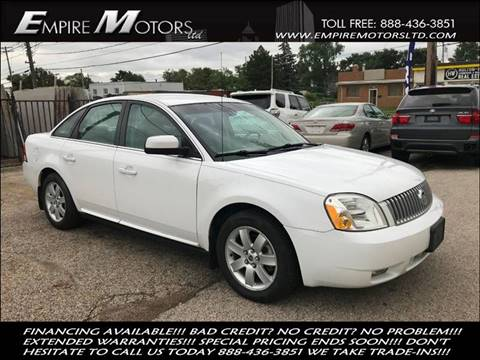 2007 Mercury Montego For Sale In Cleveland OH