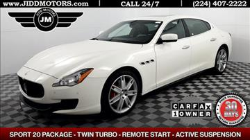 2014 Maserati Quattroporte for sale in Des Plaines, IL