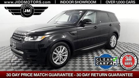 2016 Land Rover Range Rover Sport for sale in Des Plaines, IL