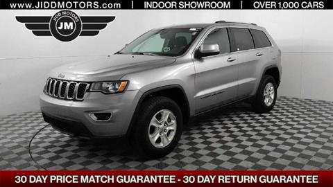 2017 Jeep Grand Cherokee for sale in Des Plaines, IL