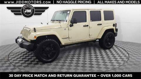 2011 Jeep Wrangler Unlimited Sahara for sale at Jidd Motors - Domestic & Asian Imports in Des Plaines IL