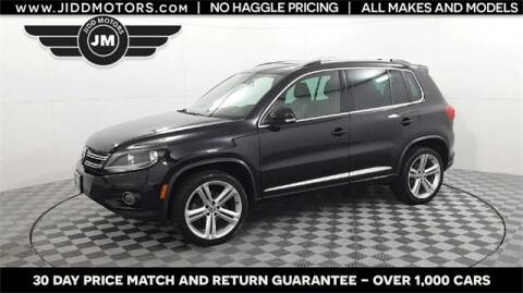 2016 Volkswagen Tiguan for sale at Jidd Motors - Domestic & Asian Imports in Des Plaines IL