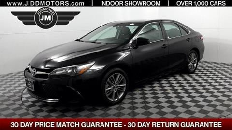 2015 Toyota Camry Hybrid for sale in Des Plaines, IL