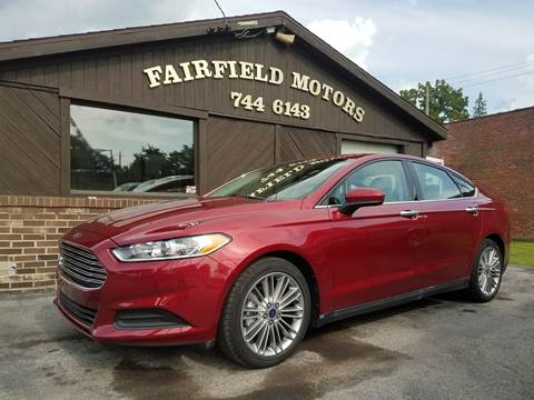 2014 Ford Fusion for sale at Fairfield Motors in Fort Wayne IN