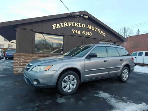 2008 Subaru Outback for sale at Fairfield Motors in Fort Wayne IN