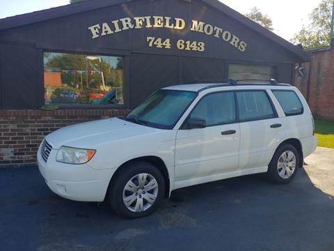 2008 Subaru Forester for sale at Fairfield Motors in Fort Wayne IN