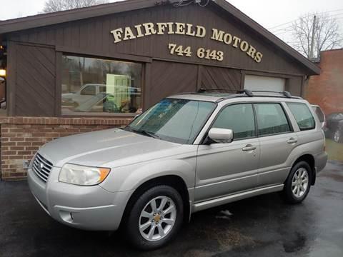 2006 Subaru Forester for sale at Fairfield Motors in Fort Wayne IN