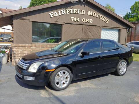 2007 Ford Fusion for sale at Fairfield Motors in Fort Wayne IN