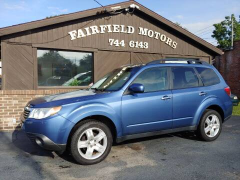 2010 Subaru Forester for sale at Fairfield Motors in Fort Wayne IN