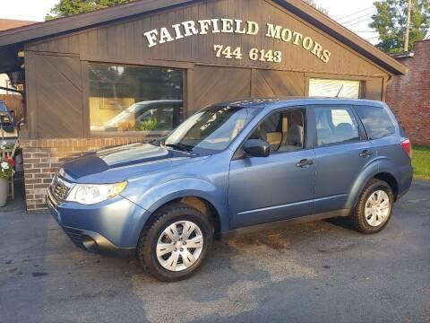 2009 Subaru Forester for sale at Fairfield Motors in Fort Wayne IN