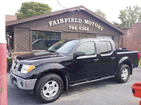 2006 Nissan Frontier for sale at Fairfield Motors in Fort Wayne IN