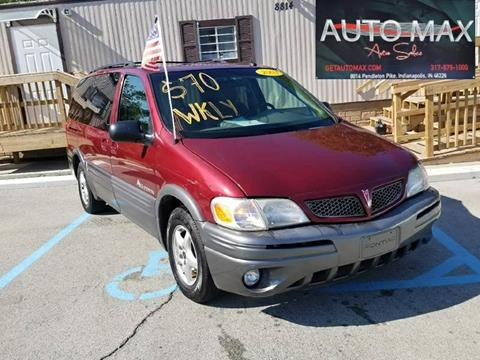 2003 Pontiac Montana for sale in Indianapolis, IN