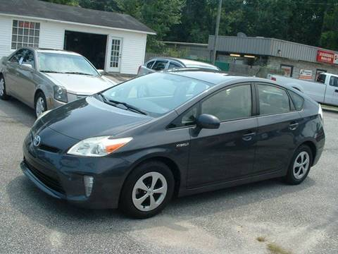 2012 Toyota Prius for sale at Northgate Auto Sales in Myrtle Beach SC