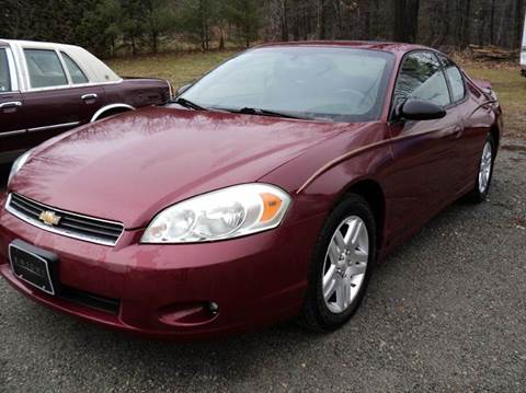2006 Chevrolet Monte Carlo for sale in Port Henry NY