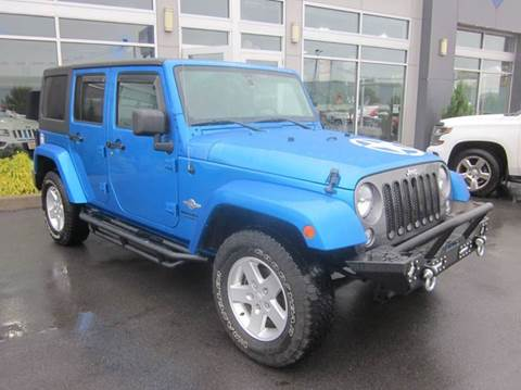 2014 Jeep Wrangler Unlimited for sale in Rome, NY