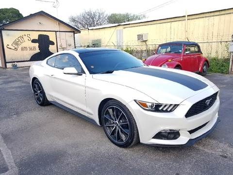 2017 Ford Mustang for sale at Cowboy's Auto Sales in San Antonio TX