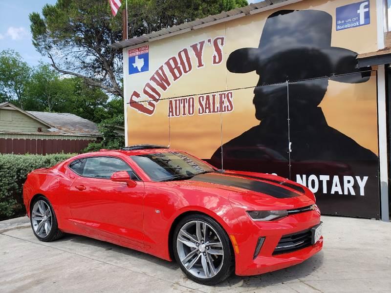 2016 Chevrolet Camaro for sale at Cowboy's Auto Sales in San Antonio TX