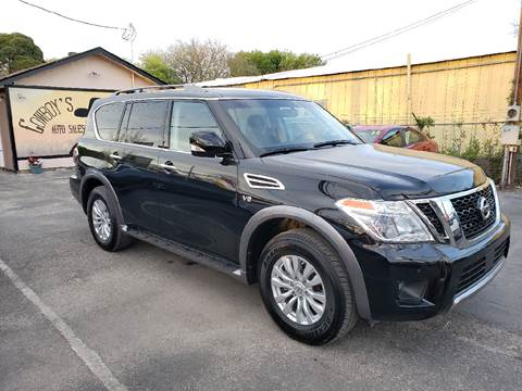 2017 Nissan Armada for sale at Cowboy's Auto Sales in San Antonio TX