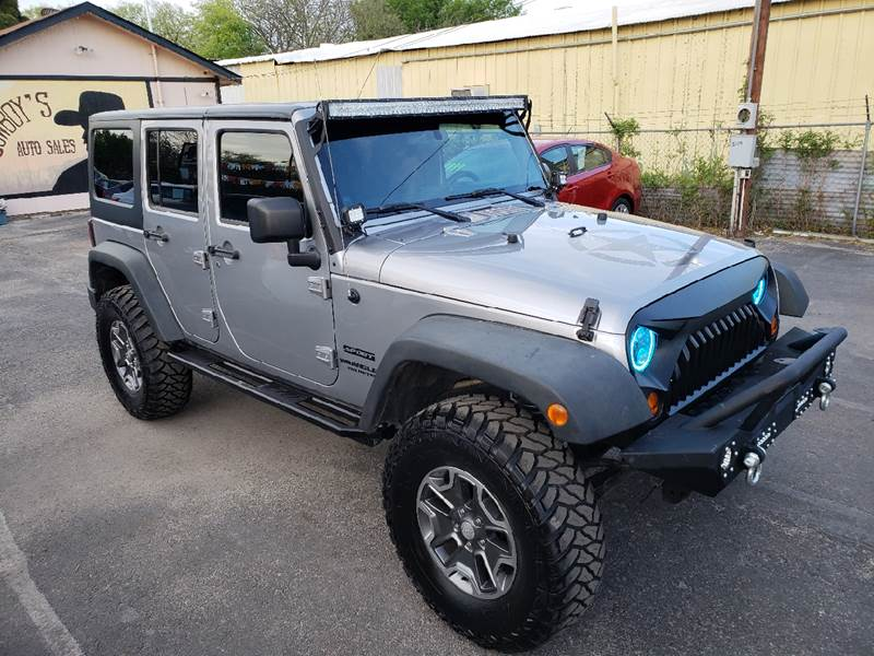 2013 Jeep Wrangler Unlimited for sale at Cowboy's Auto Sales in San Antonio TX