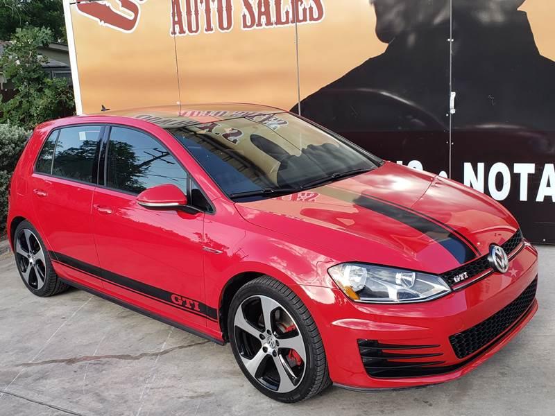 2016 Volkswagen Golf GTI for sale at Cowboy's Auto Sales in San Antonio TX