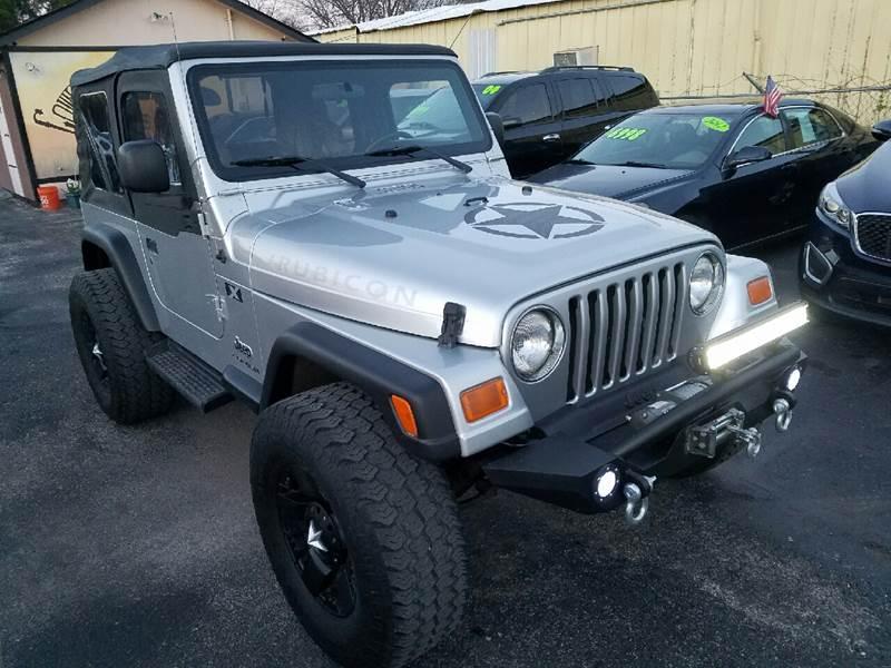 2003 Jeep Wrangler COMMANDO   San Antonio TX