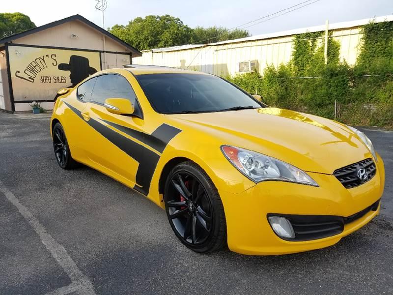 2010 Hyundai Genesis Coupe for sale at Cowboy's Auto Sales in San Antonio TX